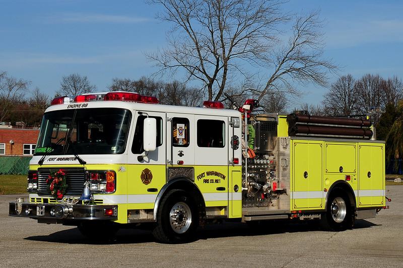 Fort Washington Fire Co  Engine  88   2005 American La france  1750/ 750