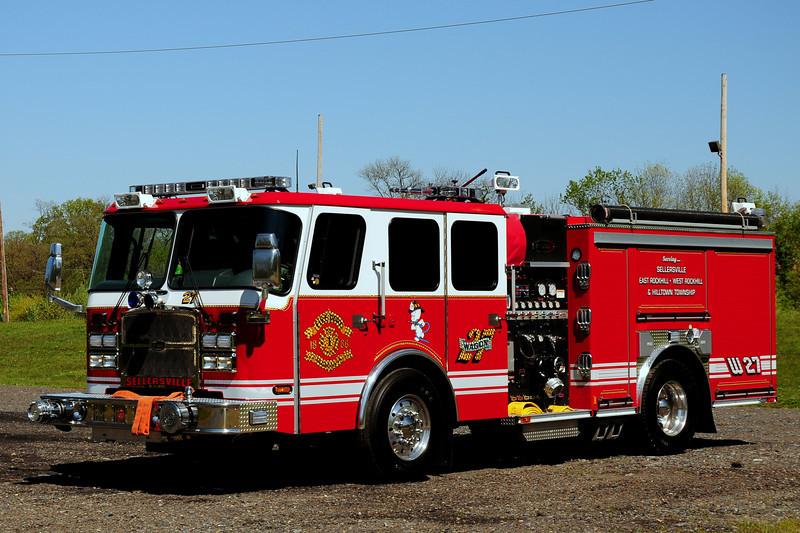 Sellersville  Fire  Co    Wagon  27  2010 Emergency-One   1750/ 780