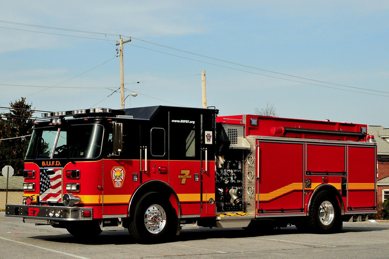 Birdsboro Fire Dept    Pumper- Tanker   7 2012  Pierce  Arrow XT 1750/ 1700