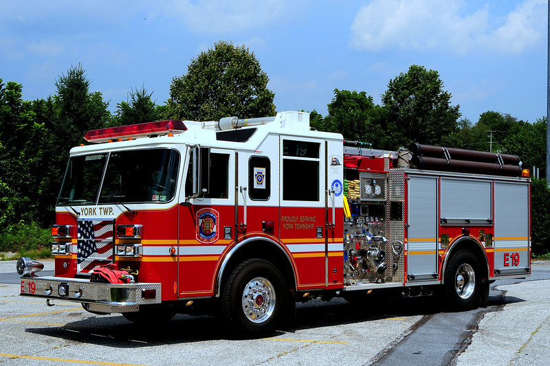 Goodwill Fire Co    Engine  19  2004  Pierce Dash  2000/ 750/ 30 AFFF 20 Class A Foam  CAFS