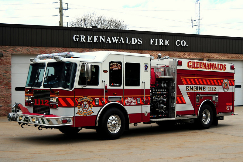 Greenawald Fire Co   Engine 1112 - 2009 KME 1500/ 1000