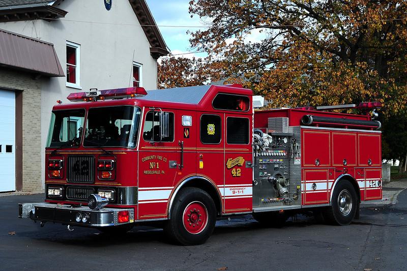 Riegelsville  Engine  41  1996  Seagrave 1750/ 1000