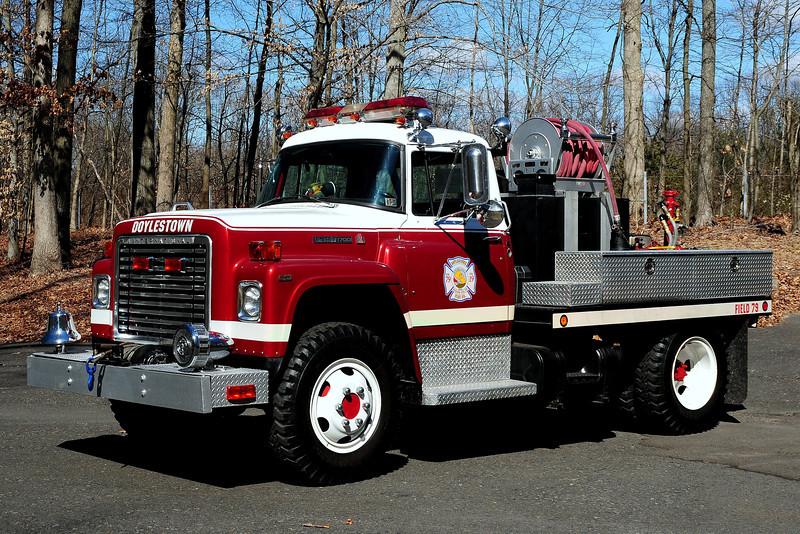 Doylestown Fire Co #1   Field  79   1976  International  Body  By  Pace  industries  125/ 250