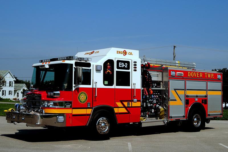 Dover Twp Fire Dept  Engine  9-2  2009  Pierce quantam  2000/ 750  40 Foam