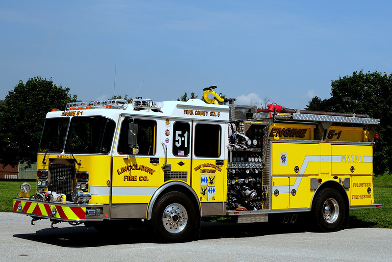 Lincolnway  Engine  5-1    Fire Co   1992  Spartan/ Emergency-One  1500/ 500