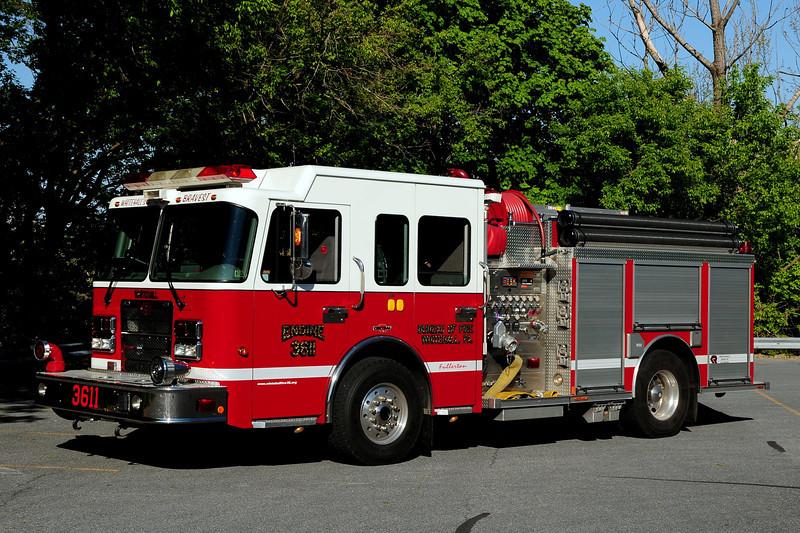 White Hall Fire Dept  Engine  3611   2007 Spartan? Central States  1250/ 750