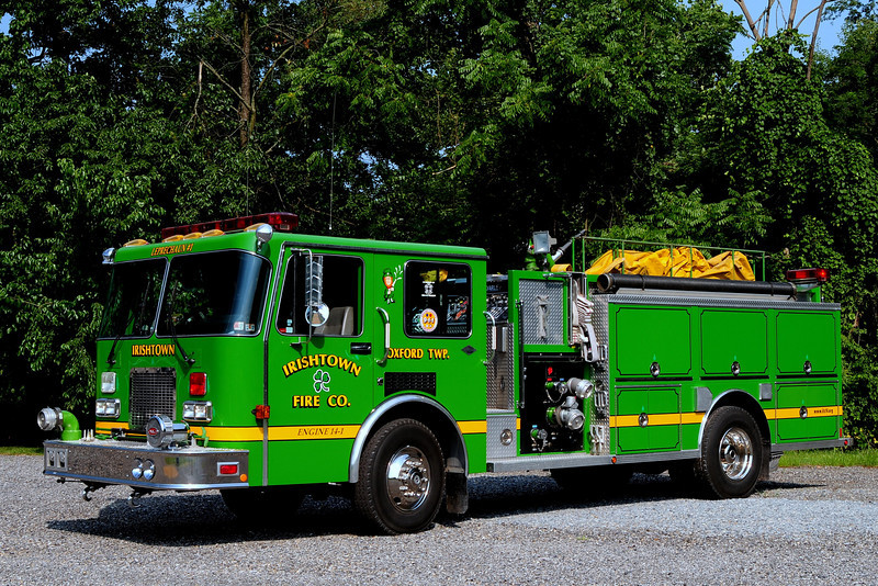 Irishtown Fire Co #1 of   Oxford Twp, Pa   Engine  14-1   1993  Spartan/ Diamond Darley 1250/ 1000