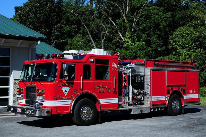 Valley Forge Pa  Fire  Dept  Engine  68-2   2002  Pierce  Dash   2000/ 1000/ 30 Foam