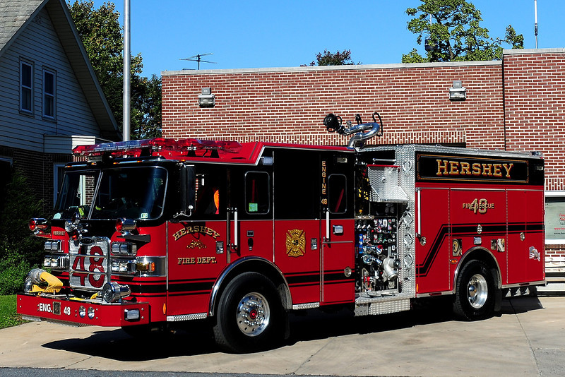 Hershey  Fire Co   Engine   48  2011  Pierce Arrow XT  2000 / 750/ 25 / 25