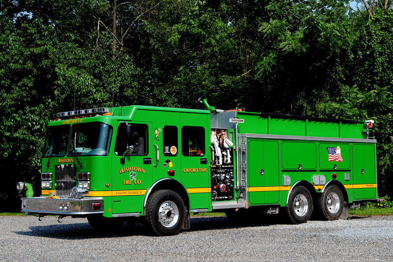 Irishtown Fire Co #1 of Oxford Twp, Pa   Engine Tanker  14   2006  Spartan / Darley  1500/ 2500