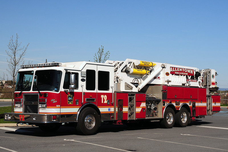City of  Allentown Pa   Truck  2   2009  KME  2000/ 300 100 Ft   GSO- 7598