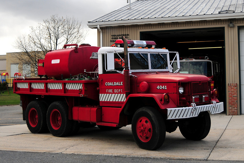 Coaldale, PA Brush 4041   1976 American General 250/ 650 2 1/2 ton