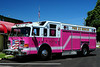 Center Square Fire  Dept of  Whitpain Twp, Pa  Rescue  33  2005  Pierce Enforcer,   The Rescue  took on it's new appearances and remained in service, in the hopes our emergency response vehicles would bring our community together to raise awareness & fight cancer. This vehicle is  a symbol of hope for those fighting cancer, a symbol of strength for those who have conquered the disease and a symbol of remembrance for those whom have lost their battle. There are way too many stories to tell but we have already helped many families across Montgomery County. For all those who chose to become actively involved, it is a life changing experience