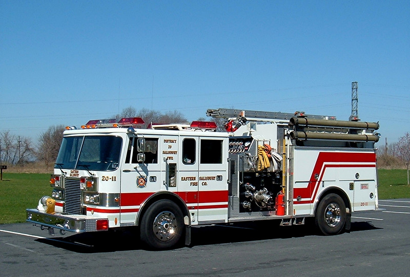 Eastern Salisbury, Pa    Engine 2011  1989 Pierce Lance 1250/750/40