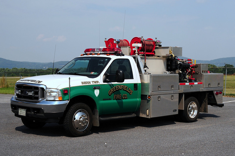 Greenfields Fire Co  Brush  55   2003 Ford F-550 Lavan Machine  350/ 300/ 10 Class foam /30 Class B foam