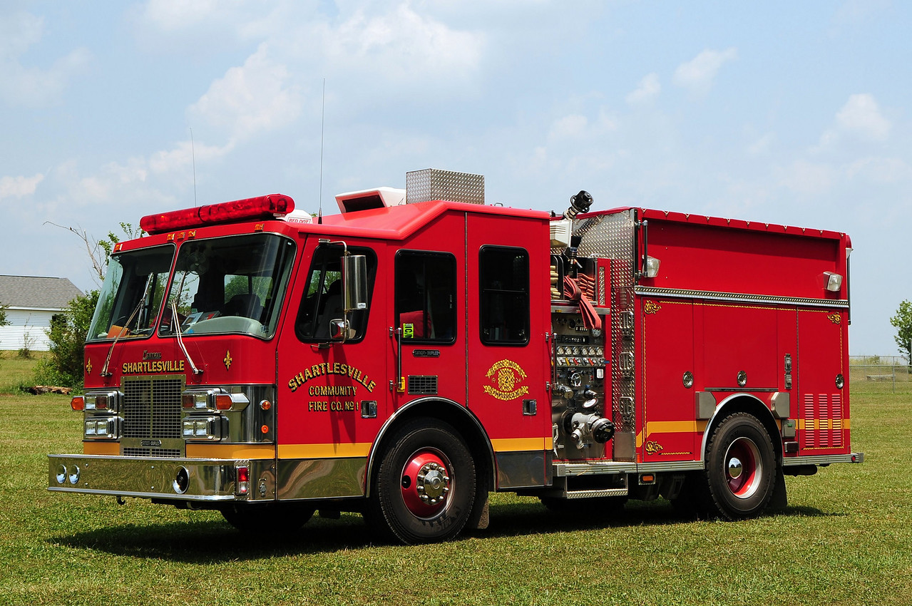 Community Fire Co of Shartlesville,  Engine 41-1   1997 Simon Duplex/ Central States 1500/ 500