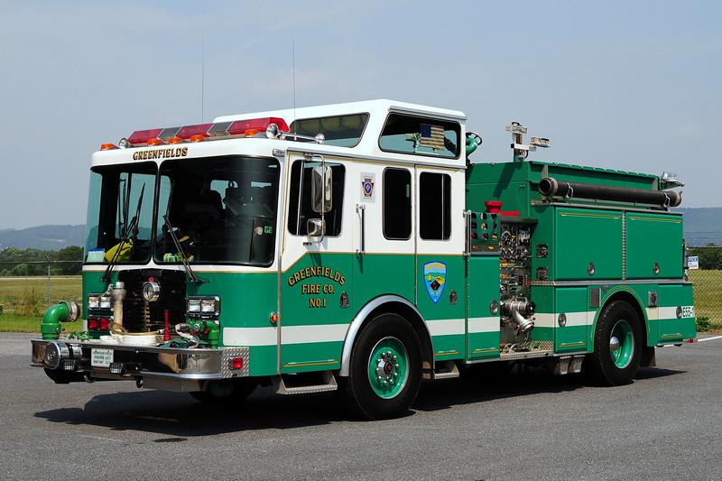 Greenfields Fire Co Engine 55-1  1991 Grummand  1500/ 1000
