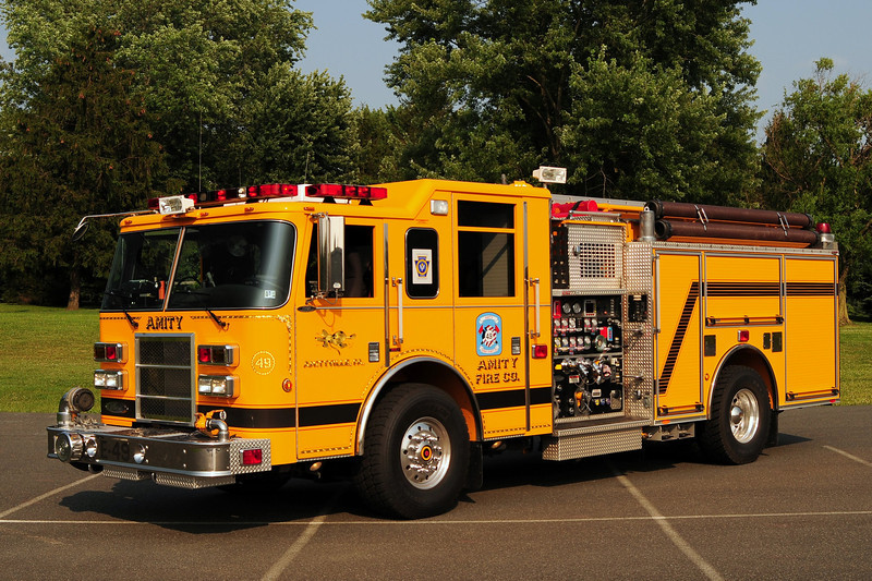 Amity  Fire Co Engine 49    2005 Pierce Dash 1500/ 750/ 50 CAFS