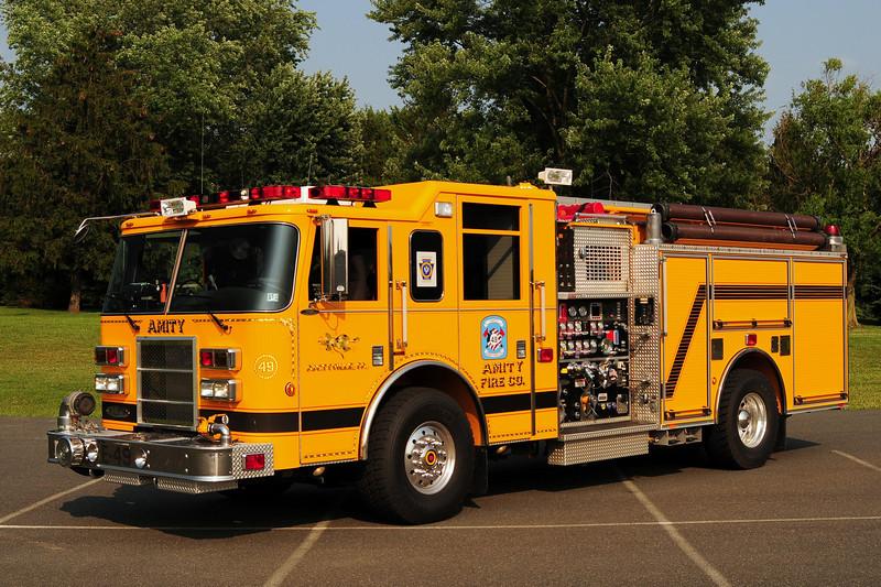 Amity  Fire Co Engine 49    2005 Pierce Dash 1500/ 750/ 50 CAFS