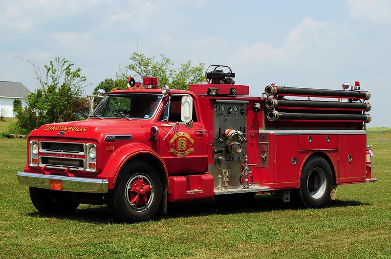 Community Fire Co of Shartlesville, Engine 41-3  1972 Chevrolet/ Hahn 1000/ 500