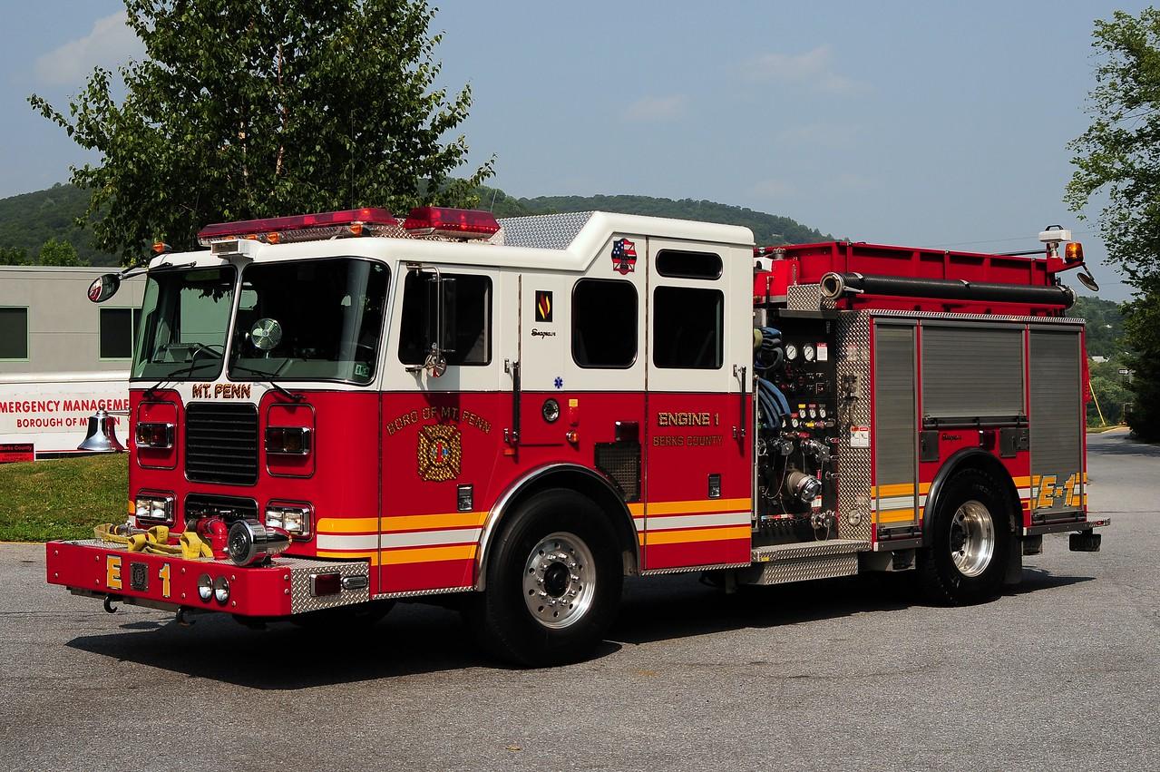 Mount Penn Engine 1   2004 Seagrave 1500/ 750