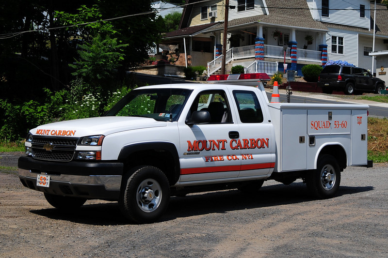 Mount Carbon Fire Co  Squad 5360  2004 Chevy 2500/Reading
