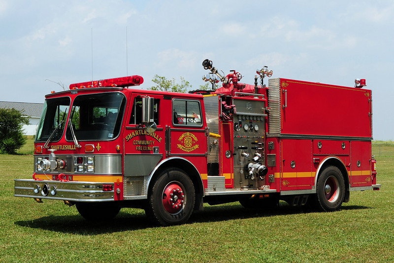 Community Fire Co  of Shartlesville, Engine 44-2   1984 Hahn 1500/ 1200
