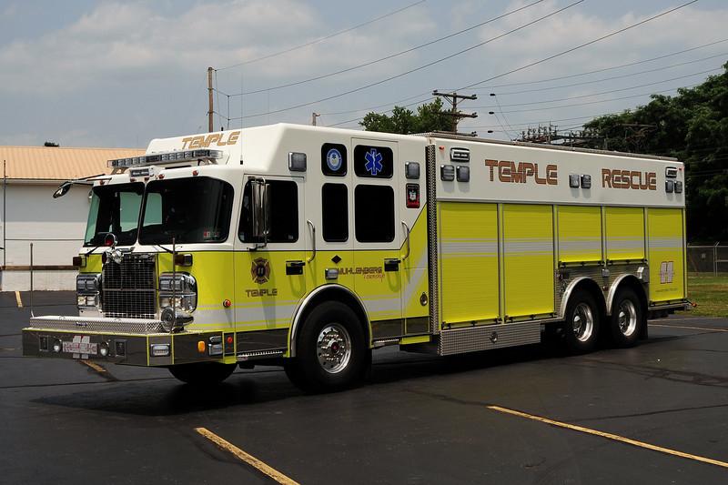 Temple Fre Co  Rescue 11    2009  Spartan/  Rescue 1