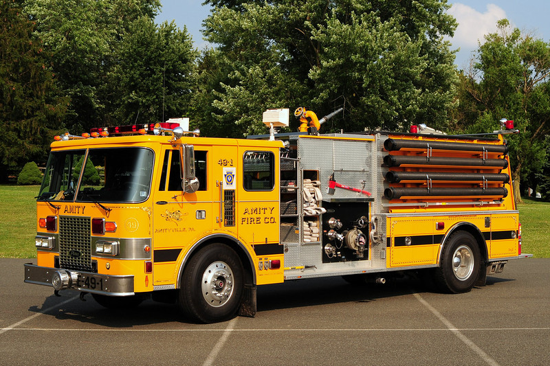 Amity  Fire Co Engine 49-1   1987 Pierce Lance 1750/ 1000