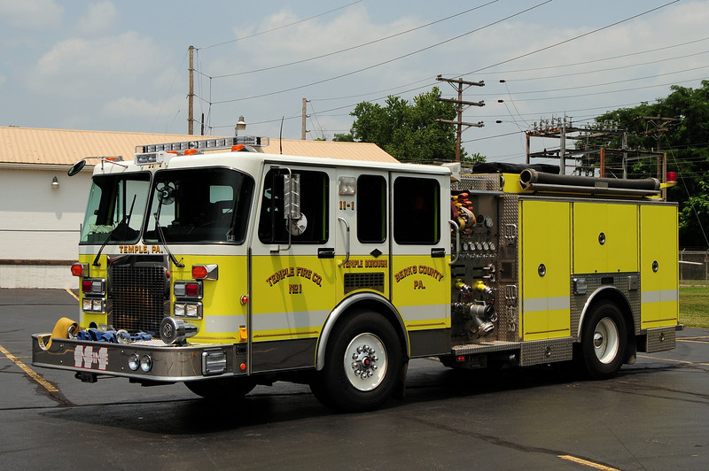 Temple Fire Co  Engine 11-1   1992 Spartan/ Saulsbury 1500/ 750