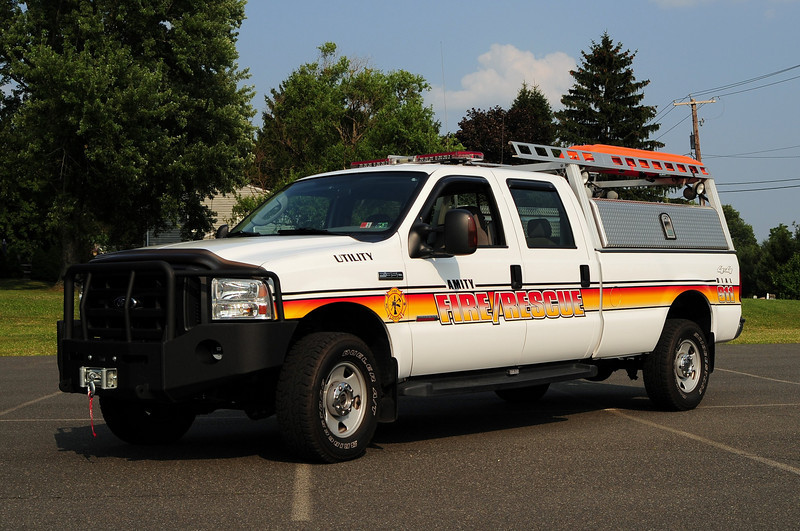Amity Fire Co  Utility 49  2007 Ford F350