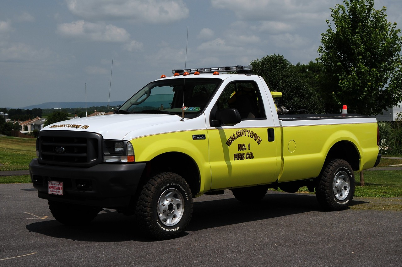 Walnuttown Fire Co  Brush  32  2004  Ford F-250  160/ 150