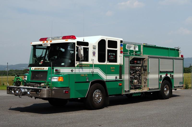 Greenfields Fire Co  Engine  55 1999 Pierce Quantum 1750/ 1000/ 50 Class B foam /30 Class A foam