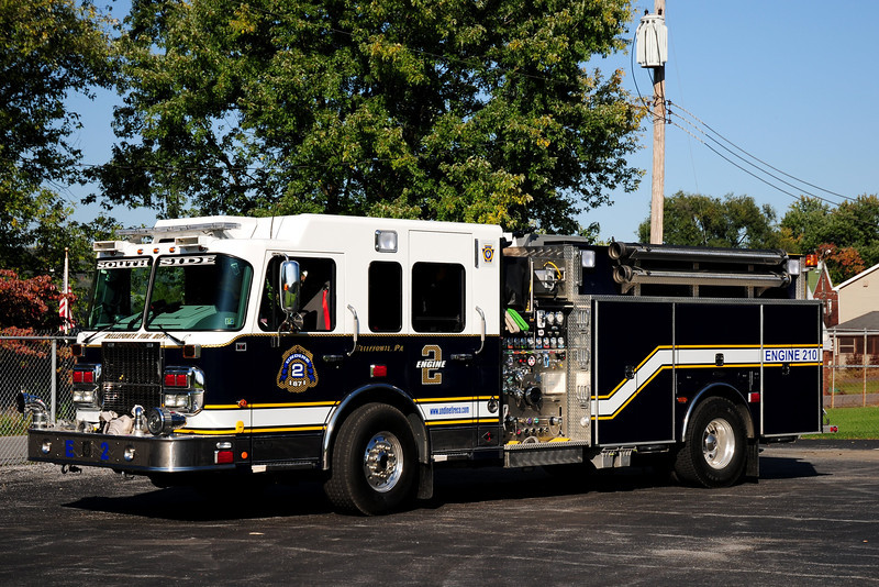Undine Fire Co  Engine 210  2009  Spartan 4 Guys  1750/ /1250