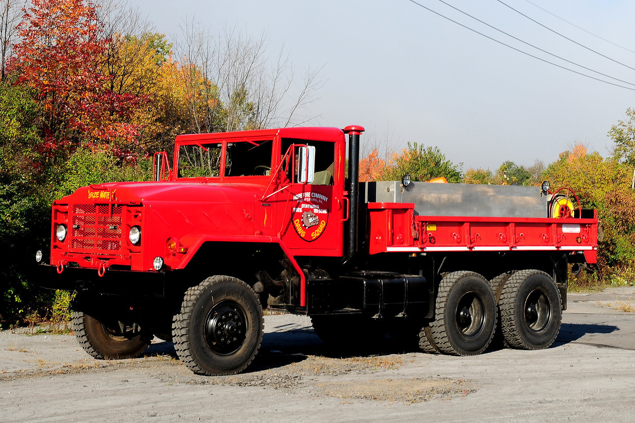 Hope Fire Co   Brush Tanker  5726  1885  American General  6x6   250/ 1100