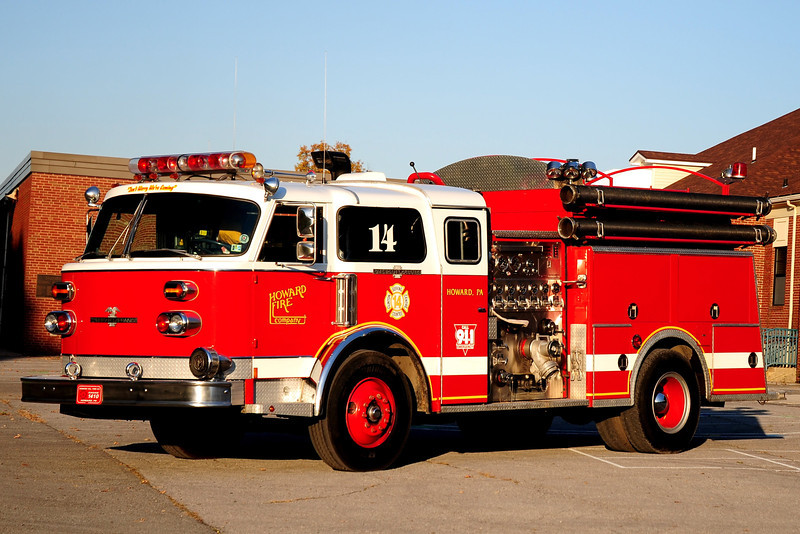 Howard Fire Co  Engine  1410  1979 American LaFrance  1500 / 1000