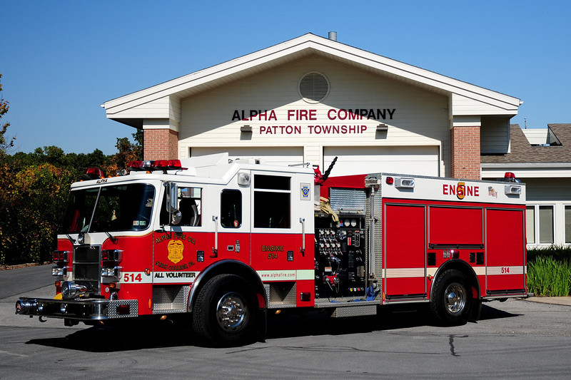 Alpha Fire Co  Engine  514  2002 Pierce  Dash  1500 / 750