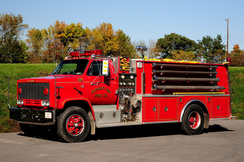 Pleasant Gap  Fire Co   Tanker 819  1997 GMC Topkick  450 /1500