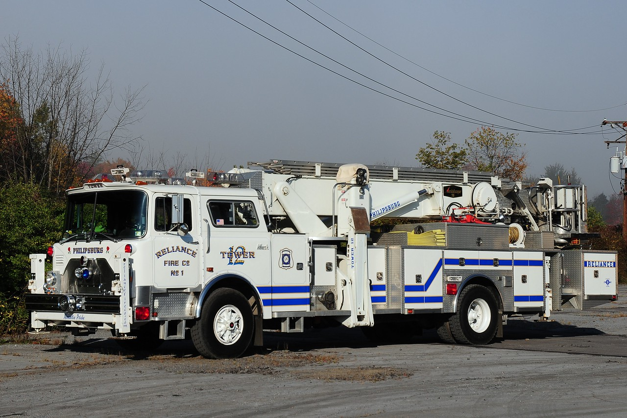 Reliance  Fire Co   Truck  5716  1981/ 2002  Mack  CF  Aerialscope  75  ft