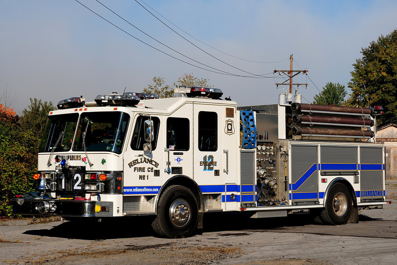 Reliance  Fire Co   Engine  5712  1996  Simon Duplex / ITE  1500 / 750