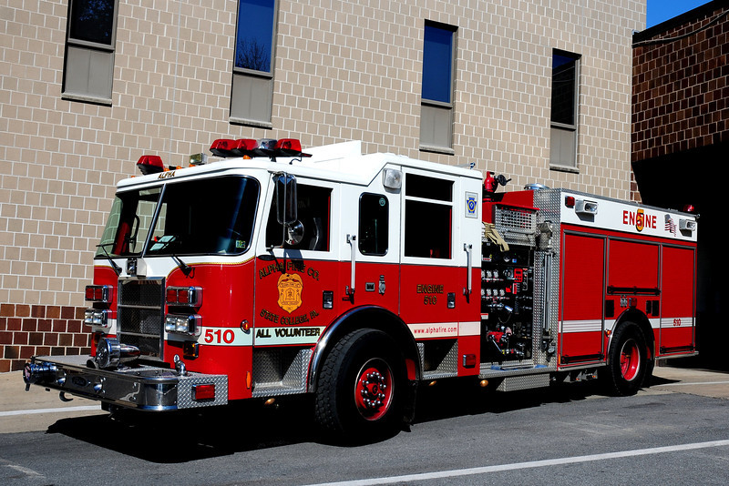 Alpha Fire Co  Engine  510 2005  Pierce Dash 1500/ 500