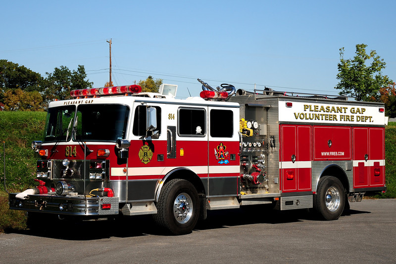 Pleasant Gap  Fire Co   Engine  814  1991 Punfab / Saulsbury 1250/ 500
