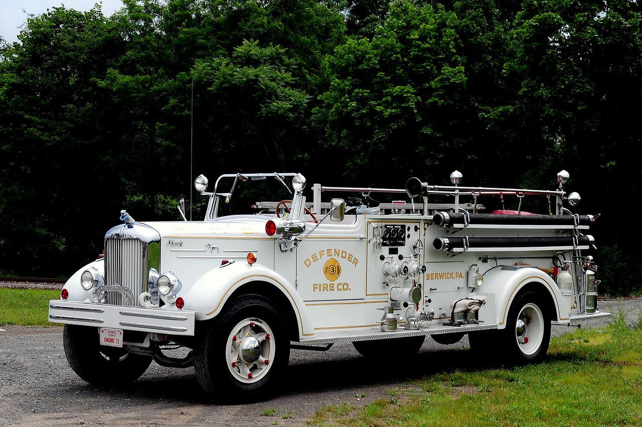 Berwick Fire Co #3 1950  Mack 505A   750/ 500