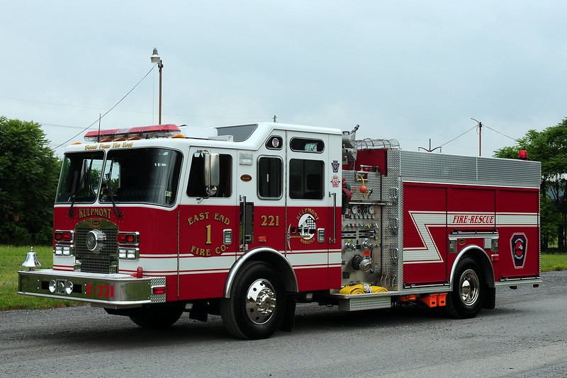 Kulpmont East End #1   Kulpmont, Pa      Engine  221 2000 KME Renegade 1500/  500  (Northumberland County)