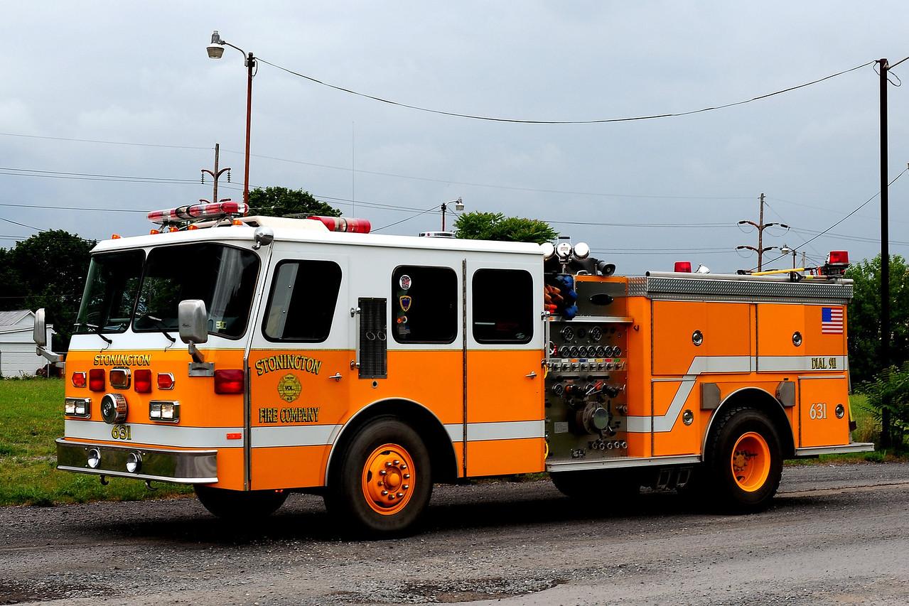 Stonington fire Co Engine 631  1989 Emergency-One  1500/ 500