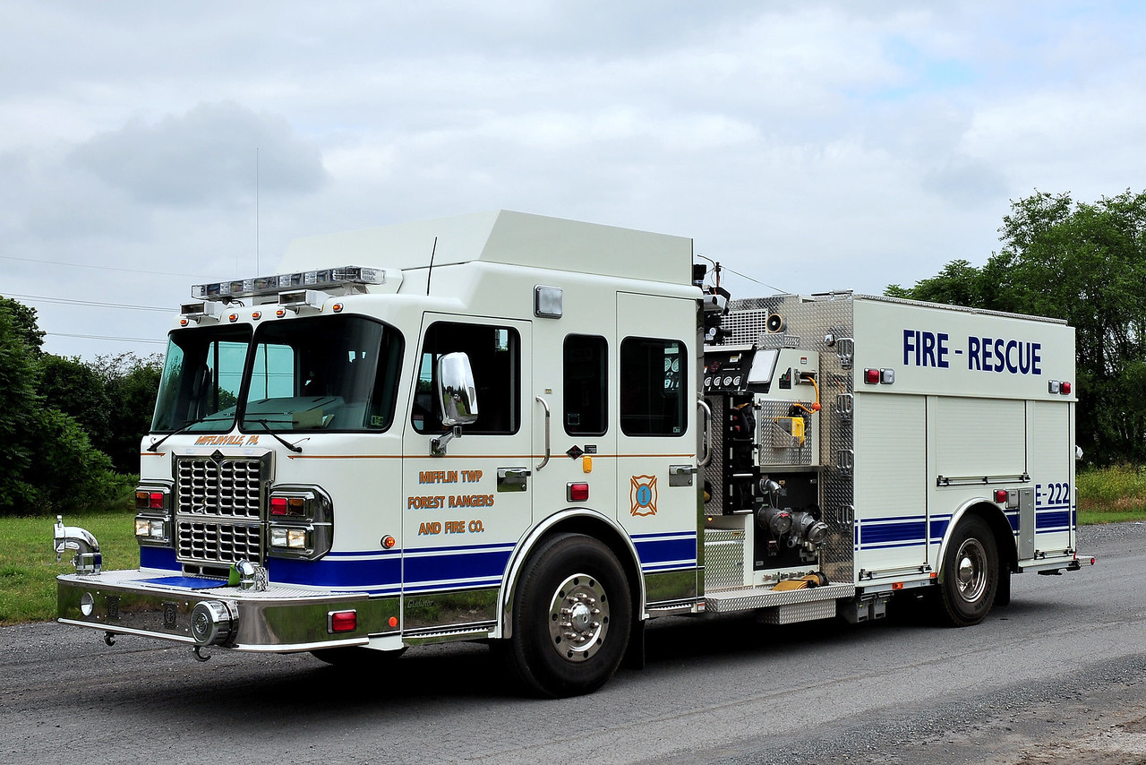 Mifflin Township Forest Rangers and Fire Company NO 1  Engine  222  Spartan 1500/ 500