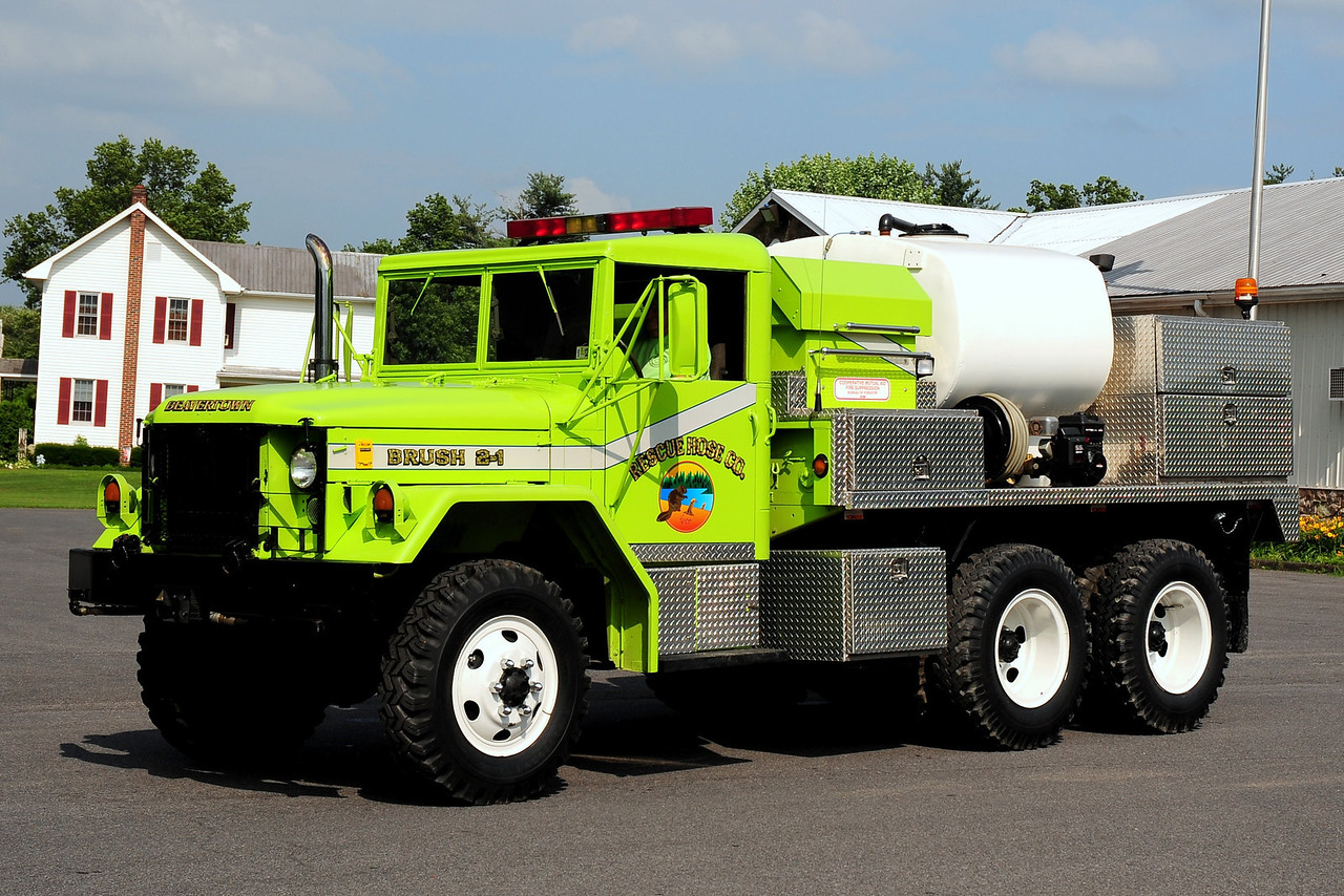 Beavertown Fire Co  Brush 2-1  1987 American General   250/ 600