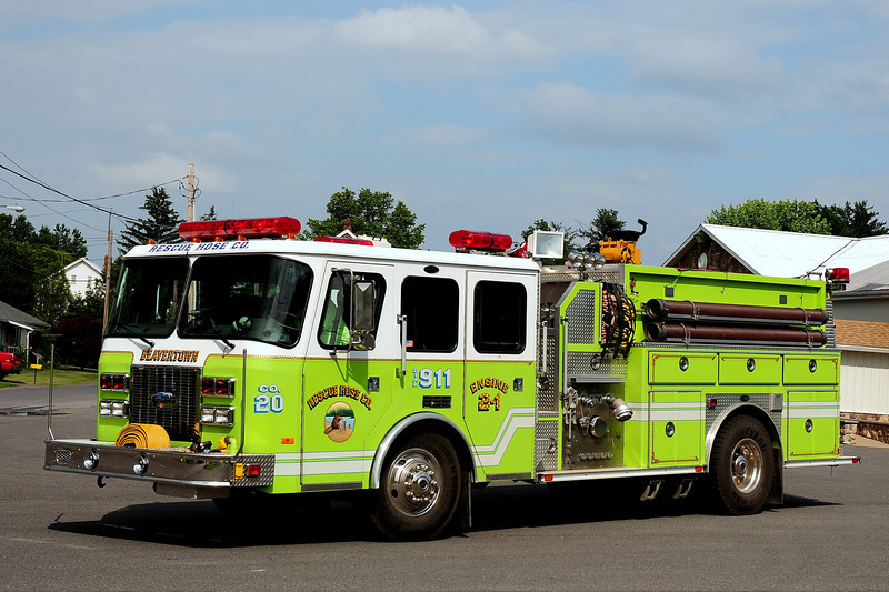 Beavertown Fire Co  Engine  2-1  1994  Emercency-One  1500/ 1000