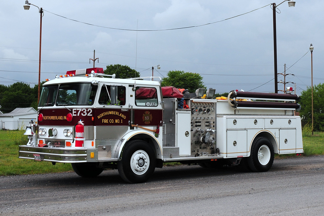 Northumberland  Fire C0 1     Engine  732  1983 Hahn 1000gpm 750gwt