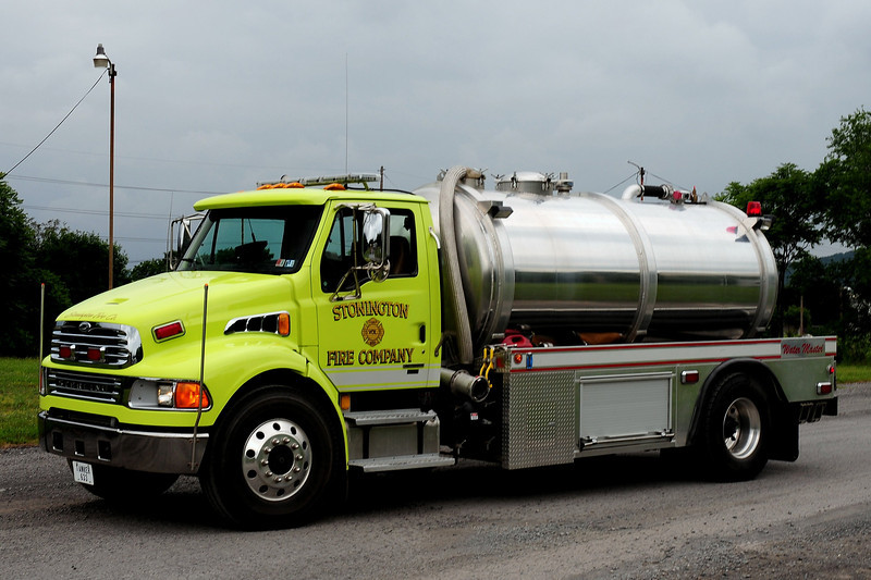 Stonington Fire Co   Sunbury, Pa  Tanker 633  2007 Sterling Water Master 2500/ <br />  (Northumberland County)